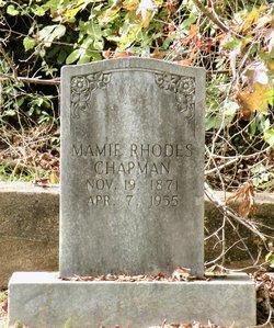 Mamie <I>Rhodes</I> Chapman
