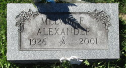 Melvin F Alexander