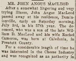 John Angus MacLeod