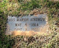 Otis Marion Atkerson