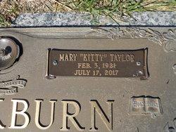"""Mary Emma """"Kitty"""" <I>Taylor</I> Blackburn"""