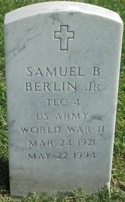 Samuel B Berlin, Jr