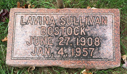 Lavina <I>Sullivan</I> Bostock