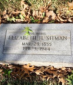Elizabeth <I>Henderson</I> Sitman