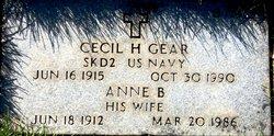 Anne Beryle <I>Brown</I> Gear