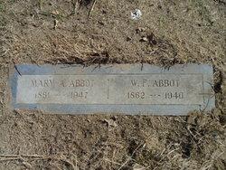 Mary Ann <I>Lyon</I> Abbot