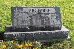 Frances L Archibee