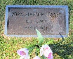 Zora <I>Simpson</I> Essary