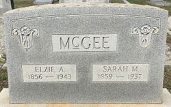Elzie A. McGee