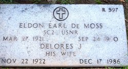 Eldon Earl De Moss