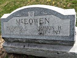 Harmon H McEowen