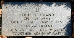 Louie Leander Friand