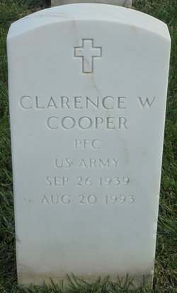 Clarence W Cooper