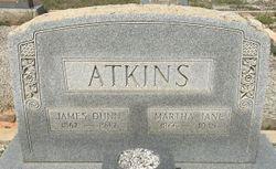 """Martha Jane """"Mattie"""" <I>Bailey</I> Atkins"""