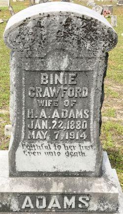 Binie Crawford Adams