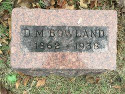 David Murray Bowland