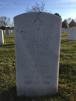 William F Dennis