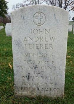 John Andrew Feierer