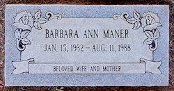 Barbara Ann Maner
