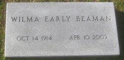 Wilma <I>Early</I> Beaman
