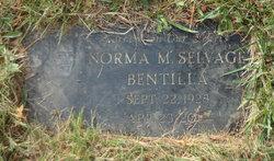 Norma Margaret <I>Selvage</I> Bentilla