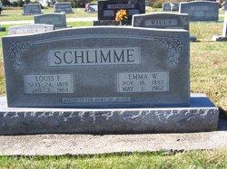 Emma Wilhelmine <I>Grebe</I> Schlimme