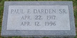 Paul Fisher Darden, Sr