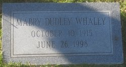 Mabry Dudley Whaley