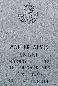 Pvt Walter Alvin Engel