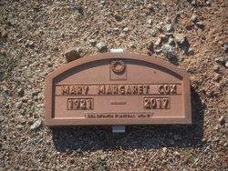 Mary Margaret <I>Eaton</I> Cox