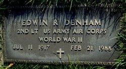 Edwin R Denham