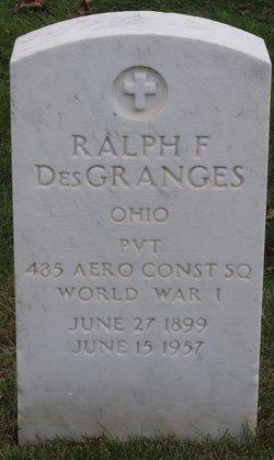 Ralph F Des Granges