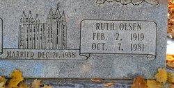 Ruth Louise <I>Olsen</I> Johnson