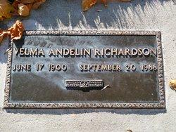 Velma <I>Andelin</I> Richardson