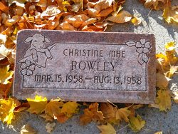 Christine Mae Rowley