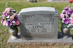 Dorothy Elizabeth <I>Hooper</I> Long