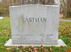 Clarence Lincoln Eastman