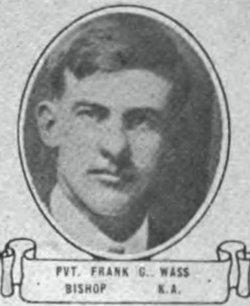 """Franklyn Glen """"Frank"""" Wass"""