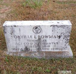 Orville Lee Bowman