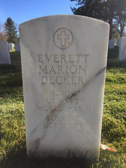 Everett M Decker