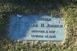 "Cleopatra Ellen ""Clopie"" <I>Hinson</I> Johnson"