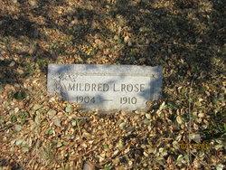 Mildred L Rose