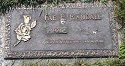 Fae E Randall