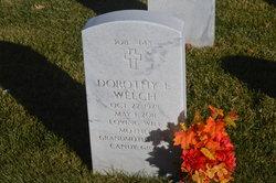 """Dorothy E """"Dot"""" <I>Halbur</I> Welch"""