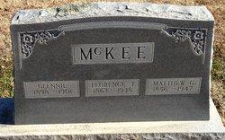 "Glennie ""Glenn"" McKee"