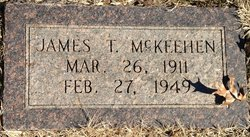 James T McKeehen