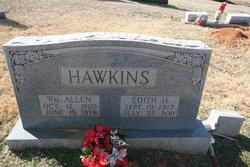 Edith <I>Hadaway</I> Hawkins