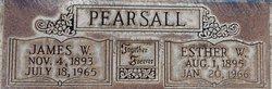 Esther W. <I>Johnson</I> Pearsall