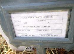 Josephine <I>Capri</I> Cardullo