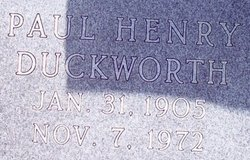 Paul Henry Duckworth